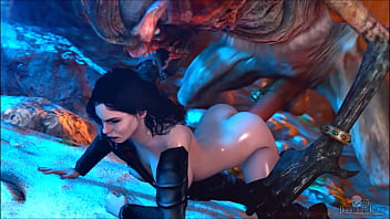 The Witcher  Ciri gif Collection  XVIDEOSCOM