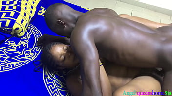 My neighbor wife couldn't resist to give me blowjob as husband left