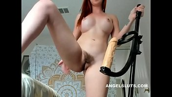 callie cobra (shaye rivers) rides fake cock