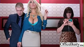 Hard Sex Tape In Office With Big Round Tits Sexy Girl (Bridgette B) video-06