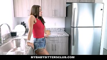 MyBabySittersClub - Hot Baby Sitter Fucked By Old Perv