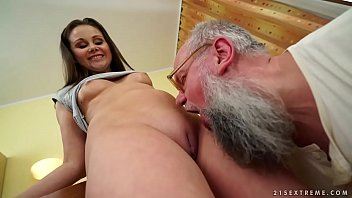 Old man fucks y. girl