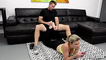 Brother and Sister wrestle - Cory Chase