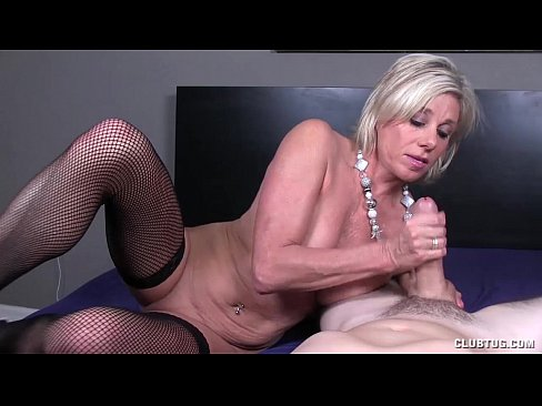 Handjob Milf Guy Mature