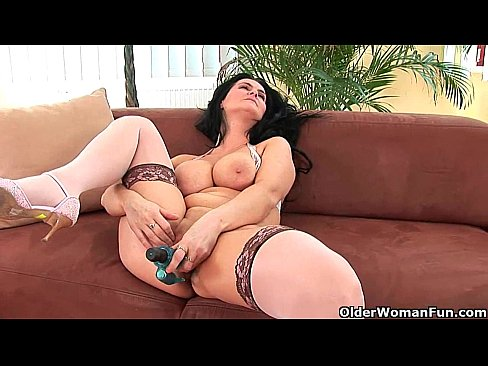 Mature fucks young with dilldo message