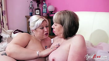 AGEDLOVE Two mature ladies got served by two horny guys
