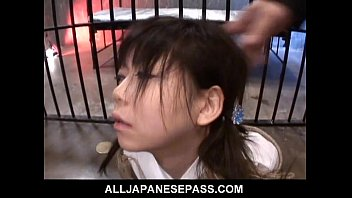 Kinky Wild Sex for teen Minami Asaka and her shaved pussy 7 min