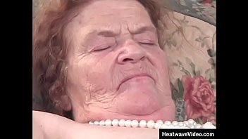 Hey My Grandma Is A Whore #4 - Davina Hardman - Wrinkly grandma in a wheelchair fucked by in rest home