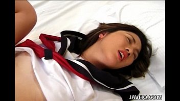 School girl Aya Ueha masturbation session!
