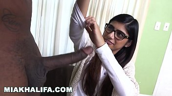 MIA KHALIFA - Rico Strong Gives Mia Her Very First Big Black Cock