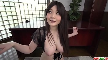 Rie Tachikawa gives head while half naked and wet - More at Japanesemamas com 12 min