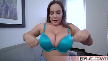 Big tits and nice blowjob technique This is my new stepmom