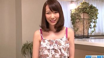 SErious toy insertion scenes for hairy Hitomi Oki 12 min