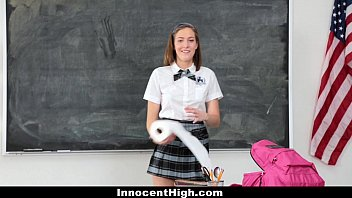 InnocentHigh - Naughty New Student (Molly Manson) Gets Banged