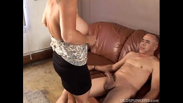 Babe busty granny old