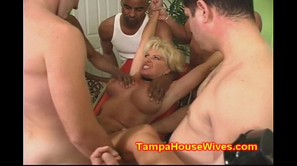 Nakede photos house wife getting gang banged camp tits
