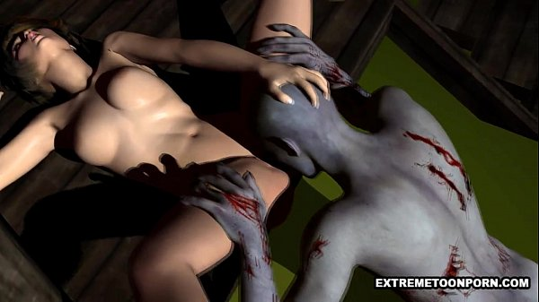 Zombie pussy lick
