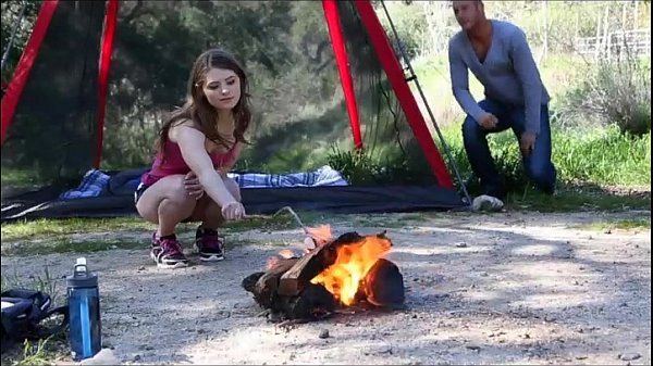 Camping sex wife trip