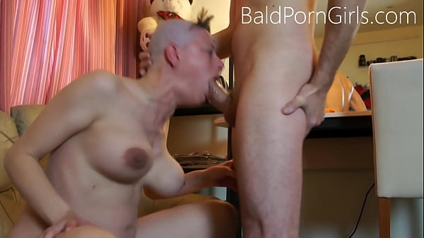 Shaved head slut abused porn clips