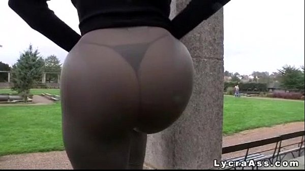 Tights in fucked booty big