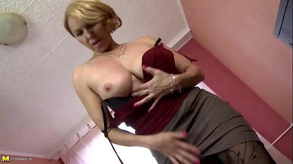Mature mother with hungry holes
