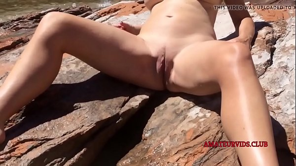 naked blonde solo