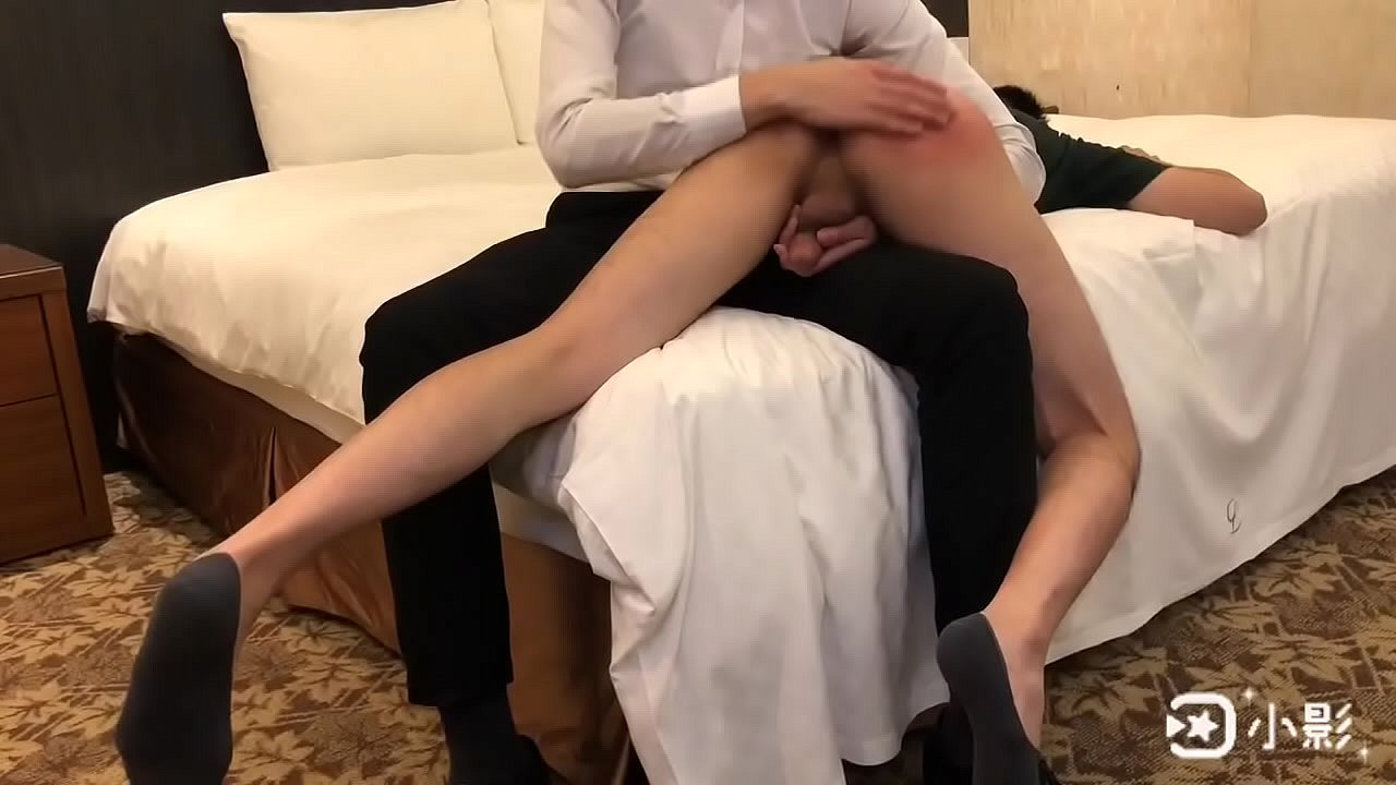 Sex therapist spanks young male