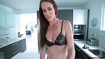 Watch Babe mom loves the fact that son is hard for her preview