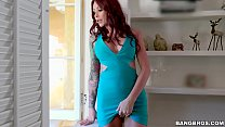 BANGBROS - Sliping and Sliding with Busty Stepmom Monique Alexander's Thumb