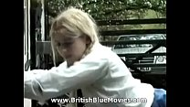 Classic caning video featuring a young lady nam...