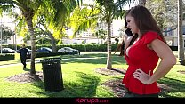 Frustrated And Horny MILF Ivy Secret Negotiates...