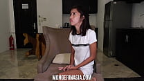 Little Filipina Teen Rides Giant Cock, Gets Kno...