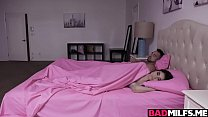 Horny Busty Milf Richelle Sneaks Into Her Stepd...