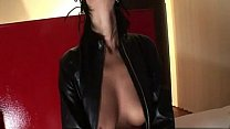 Heres a mistress that is heavy into leather  rubb Thumbnail
