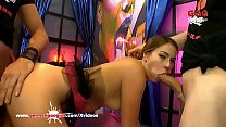 Super hot babe Ani BlackFox loves getting her t...