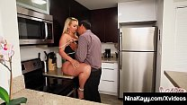 Thick Ass Nina Kayy has an affair with Mr. Juan, who stuffs her plump pussy with his hard Latino Cock while special agent Sara Jay records all as evidence! Full Video & Nina Live @ NinaKayy.com!'s Thumb
