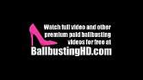 Ballbusting by a beautiful_baby! Sexy as hell! Thumbnail