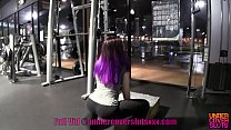 18 Year Old Gets Fucked at Gym