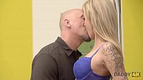 DADDY4K. Hot old and young action of cutie and ...