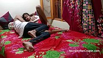Young Desi Indian School Girl Sariki With Her C...