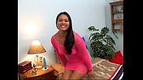 Cute young asian girl loves to give a pov blowj...