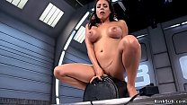 Luna Star vibrates pussy and gets orgasm then i...