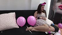 19 BIRTHDAY GIFT for Alba. Two cocks as thick a...