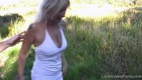 Hot Spanish Blonde MILF Fucked hard in her ass ...