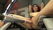 Stunning redhead solo babe Raven Rocket with ni...