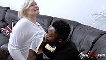 Busty blonde and latin mature sex