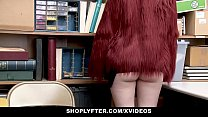 Watch ShopLyfter - LP Officer Dominates And Detain Petite Blonde Teen Caught Stealing preview