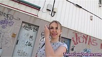 Amateur teen fuck with guy on the street for money Thumbnail