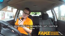 Fake Driving School_Big tits blonde gets fucked and cum splattered glasses Thumbnail