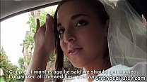 Horny bride Amirah gets banged by dude's Thumb